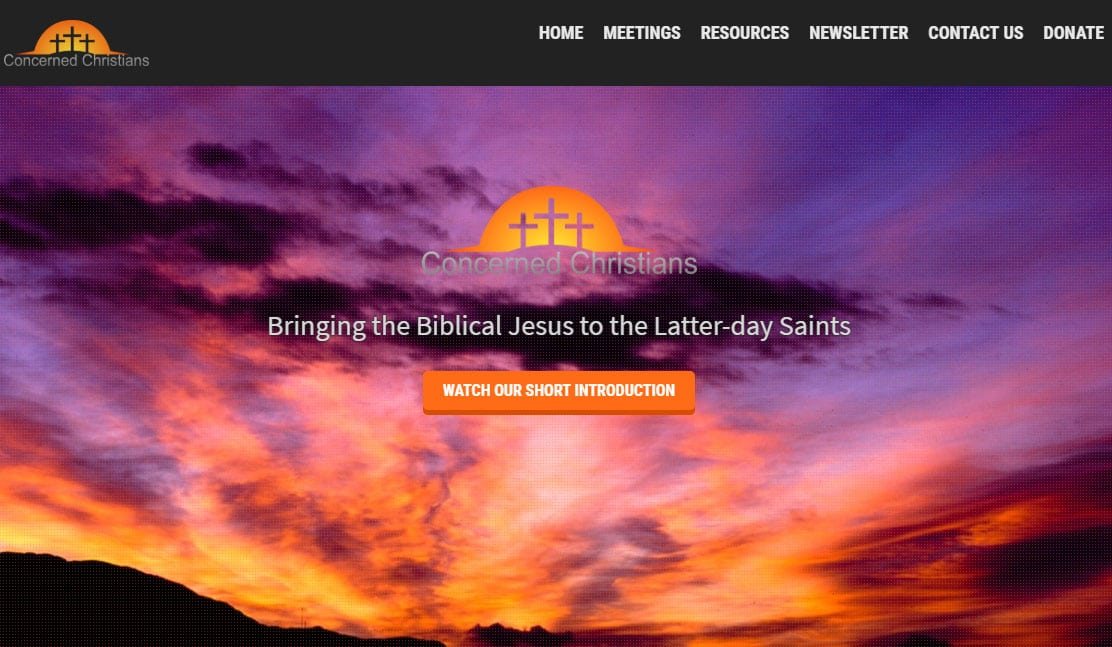 Concerned Christians – Website, E-Commerce store and logo for non-profit ministry